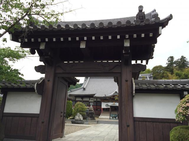 埼玉県大光晋照寺の山門