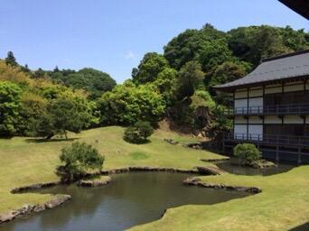 円覚寺の庭園
