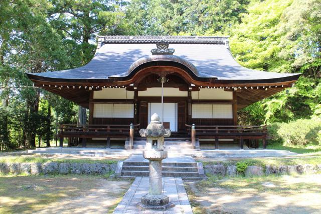大阪府弘川寺の本殿