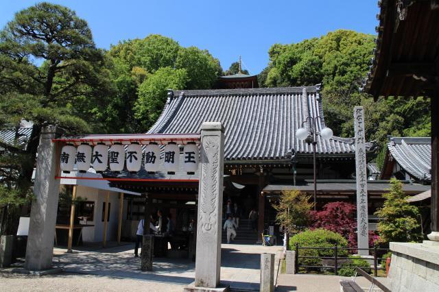瀧谷不動明王寺の本殿