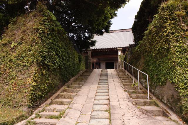 鹿児島県清浄寺の山門