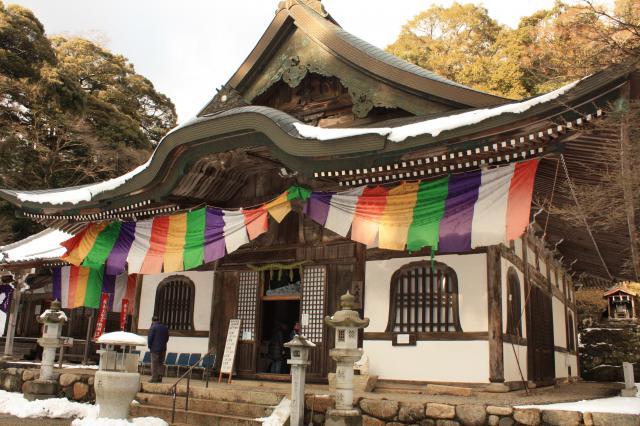 新大佛寺の本殿