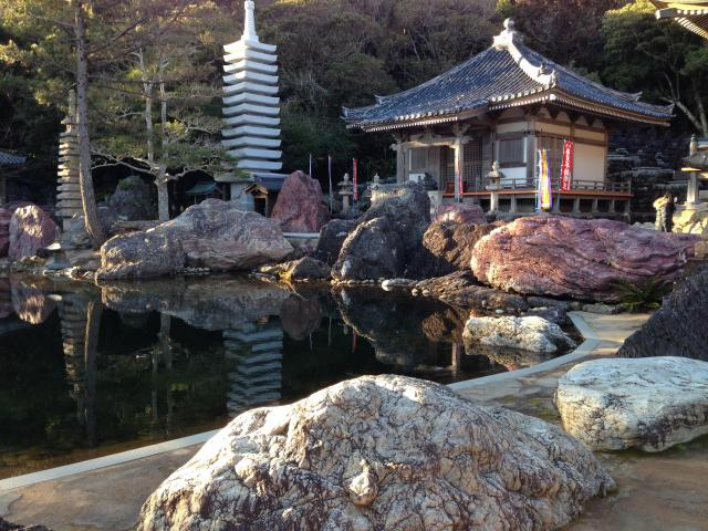 高知県金剛福寺の庭園