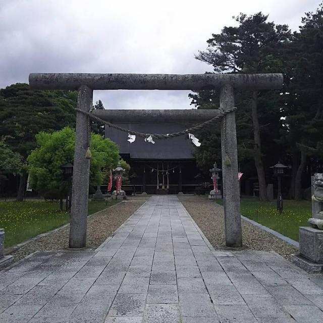 岩手県鳥谷崎神社の本殿