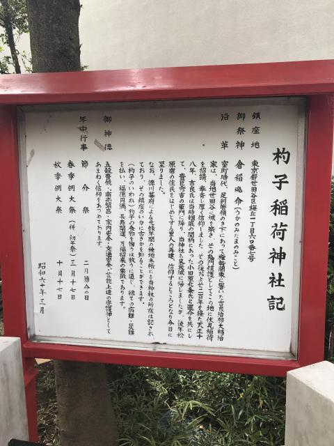 稲荷神社の歴史
