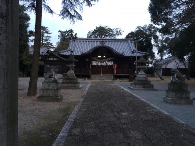 香川県鰐河神社の本殿