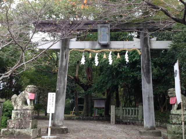 高知県秦神社の鳥居