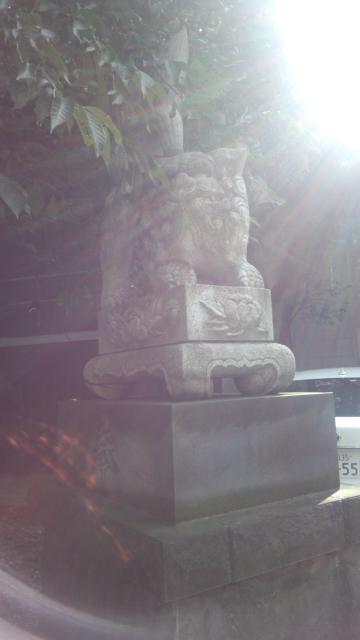 元三島神社(東京都鶯谷駅) - 狛犬の写真