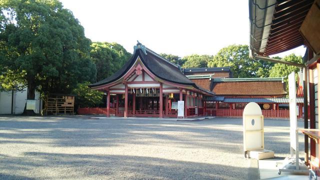 津島神社の本殿