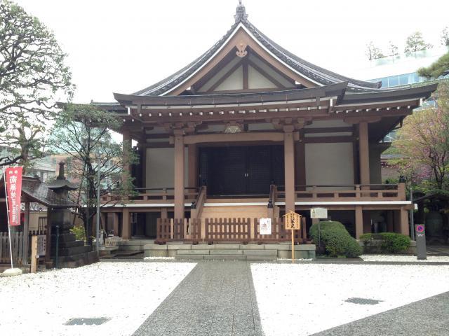 市谷亀岡八幡宮の近くの神社お寺|心法寺