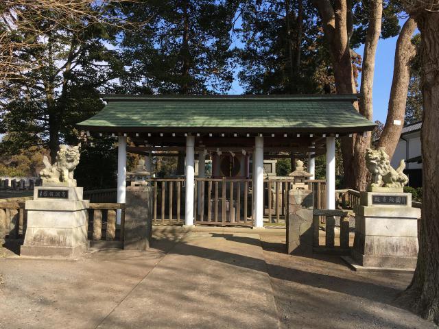 茨城県回天神社の本殿