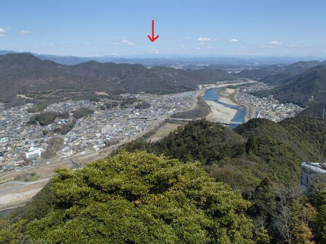 御嶽神社の景色