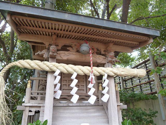 妙見神社の本殿