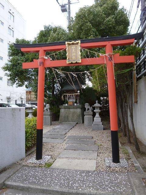 妙見神社の鳥居