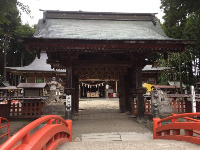 青森県櫛引八幡宮の山門