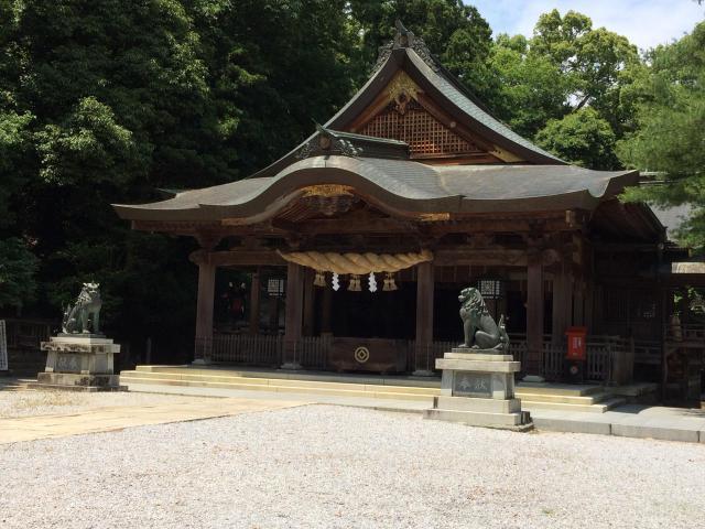 愛媛県和霊神社の本殿