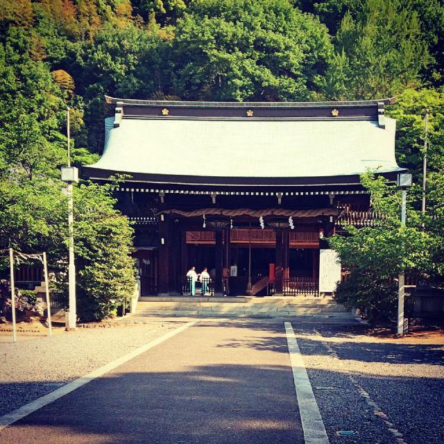 愛媛県愛媛縣護国神社の本殿