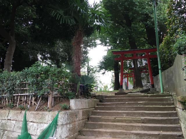 松羽稲荷神社の鳥居