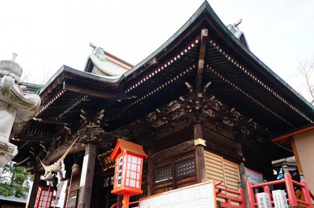 群馬県上野総社神社の本殿