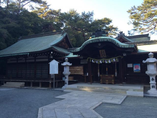 広島県艮神社の本殿