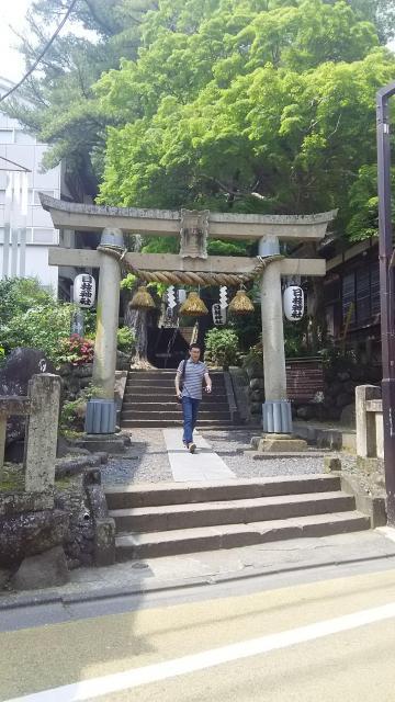 静岡県日枝神社の鳥居