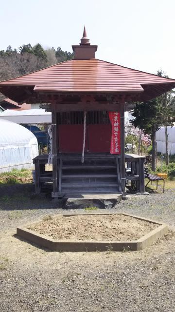 岩手県松澤山 六角堂の写真