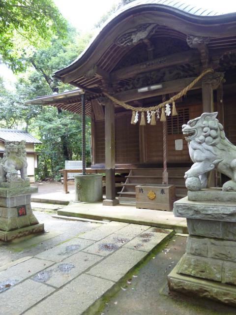 千葉県七百餘所神社の本殿