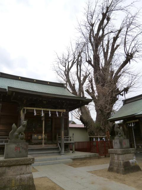 湊水神社の近くの神社お寺|押切稲荷神社