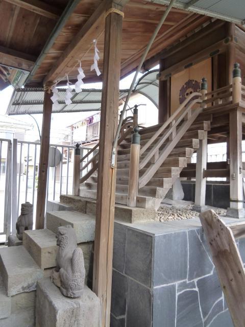 千葉県豊受神社の本殿