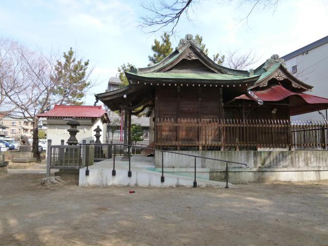 千葉県胡録神社の建物その他