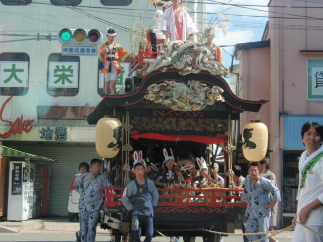 鹿嶋神社のお祭り