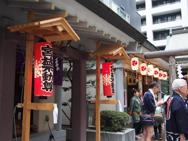 宮益御嶽神社のお祭り