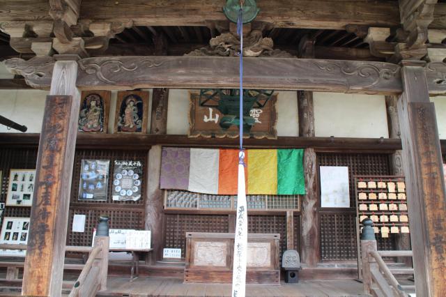 奈良県聖林寺の本殿