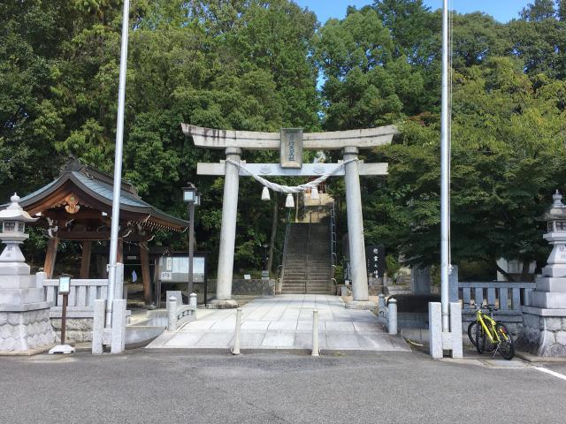 愛知県景行天皇社の鳥居