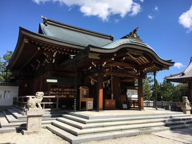 愛知県景行天皇社の本殿