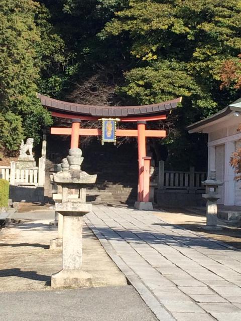 広島県福山八幡宮の鳥居