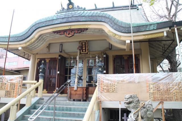 大阪府諏訪神社の本殿