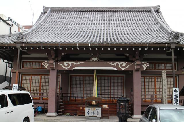 釈迦院の本殿