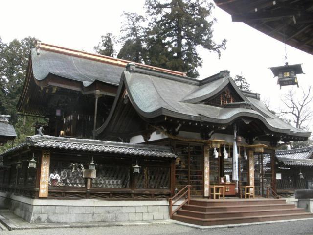 滋賀県沙沙貴神社(佐佐木大明神)の本殿