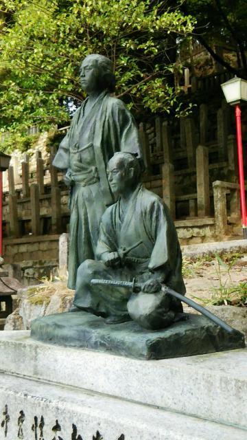 京都霊山護國神社の像
