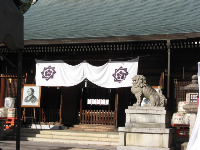京都霊山護國神社の本殿