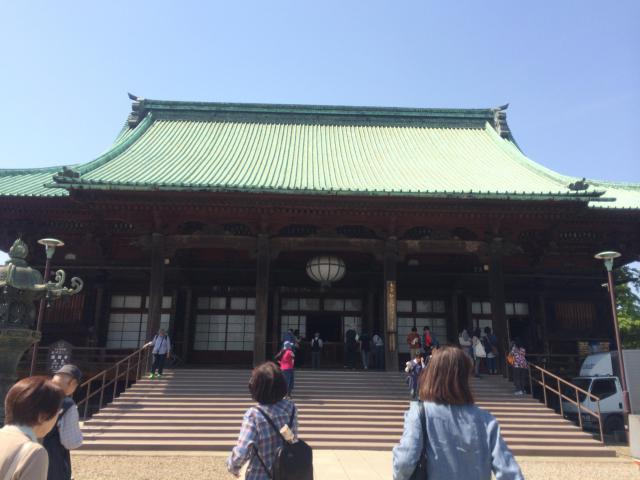 東京都護国寺の本殿