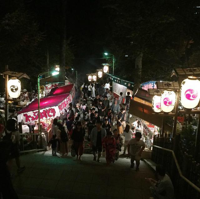 渋谷氷川神社のお祭り