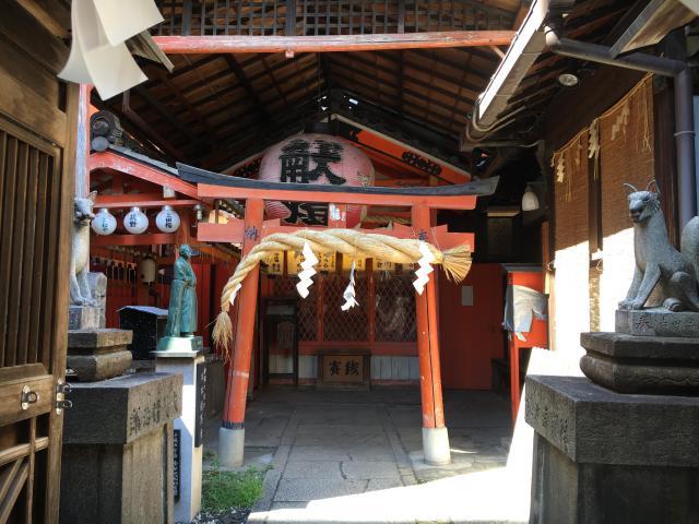 京都府岬神社(土佐稲荷神社)の鳥居