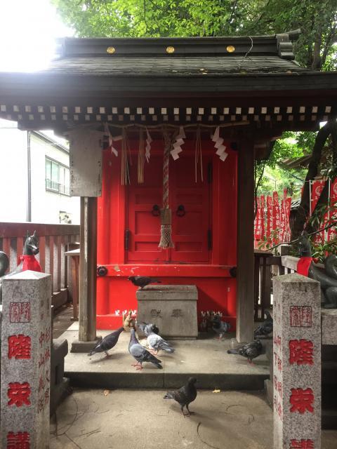 東京都隆栄稲荷神社の建物その他
