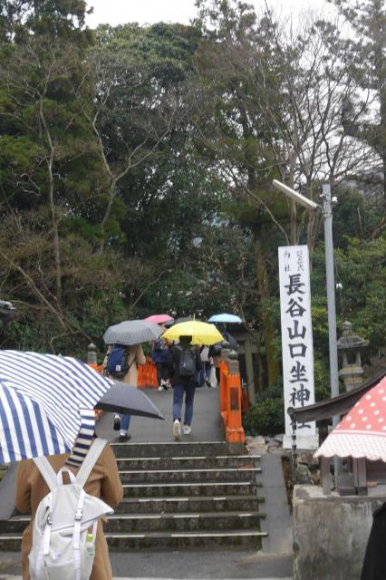 長谷山口坐神社の建物その他