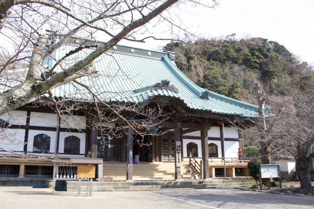 神奈川県光明寺の本殿