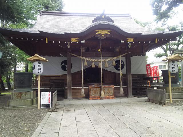 埼玉県草加神社の本殿
