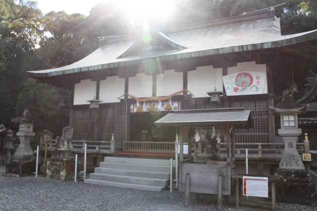 和歌山県闘鶏神社の本殿