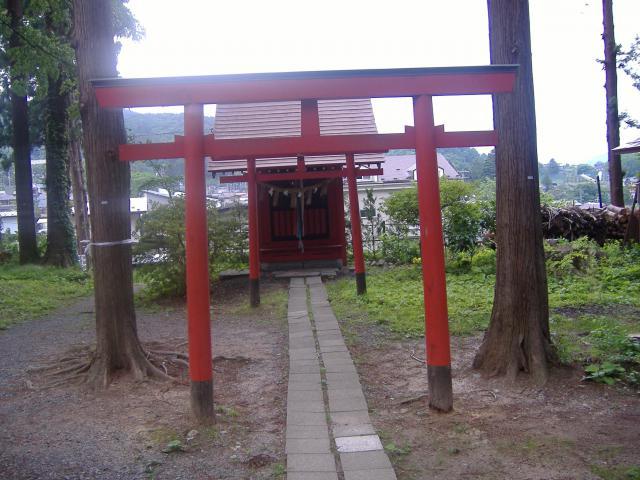 岩手県三ツ石神社の本殿